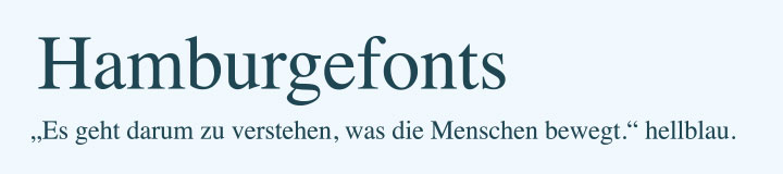 Typografie Times Schriftart Beispiel