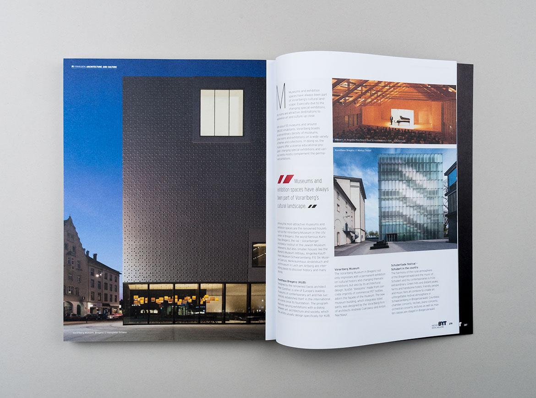 Architektur in Vorarlberg Artikel in BYT Magazin