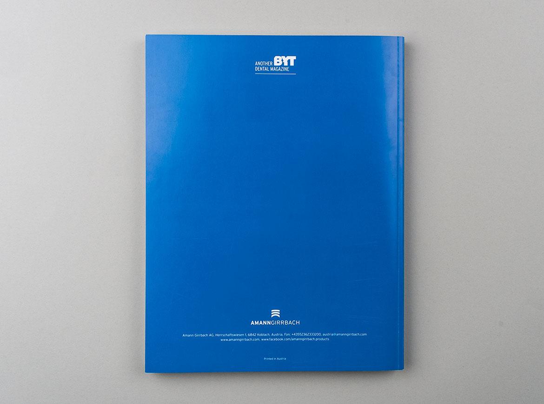Rückseite des BYT Magazins