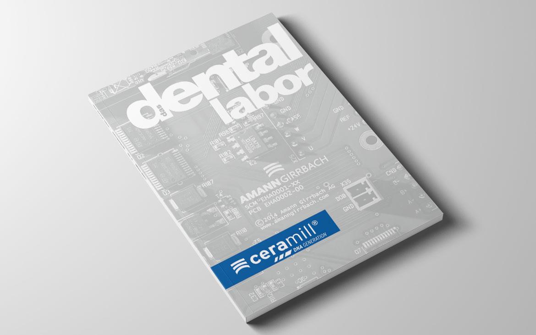 Titelinserat für Dental Fachmagazin