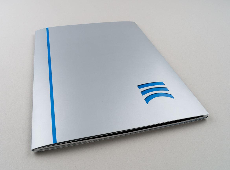 Umschlag der Imagebroschüre