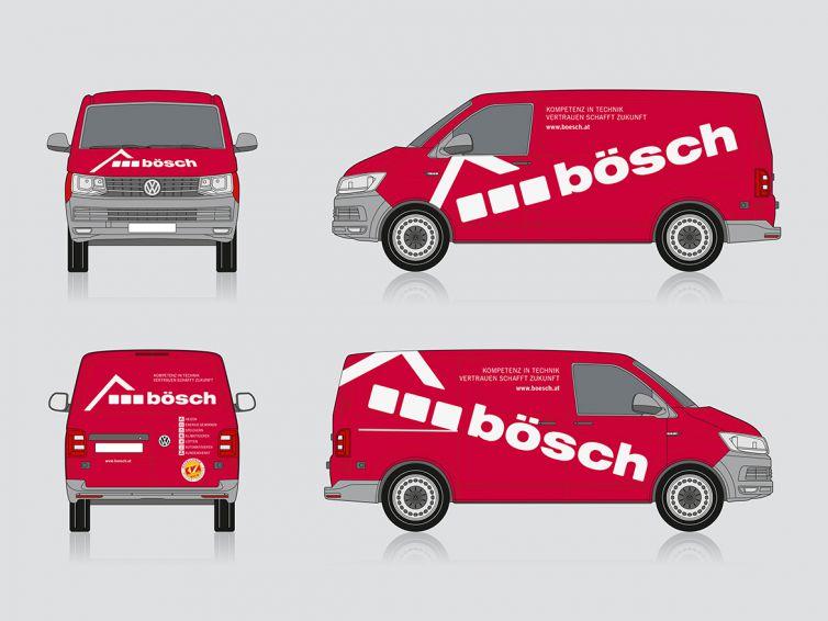 Bösch Fahrzeugbeschriftung