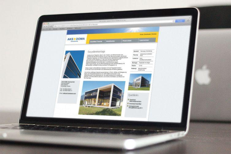 Doma Solartechnik Website