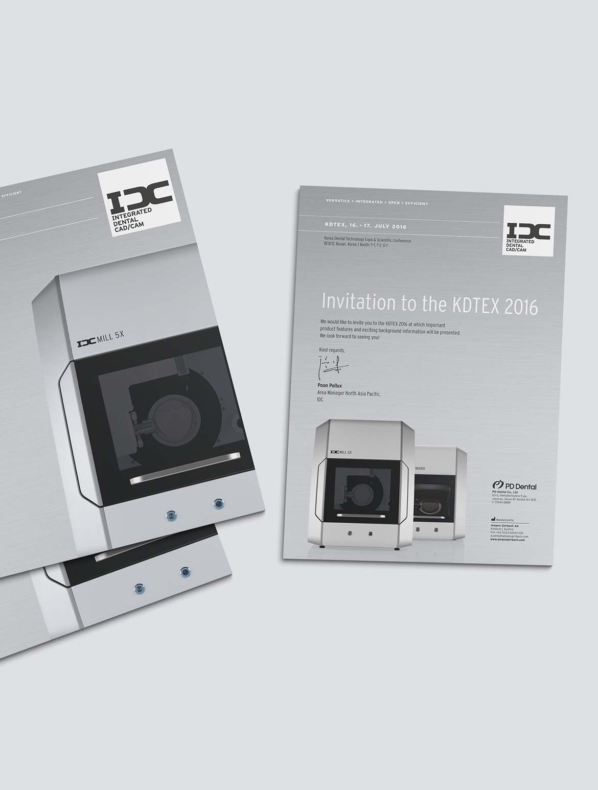 IDC Einladung