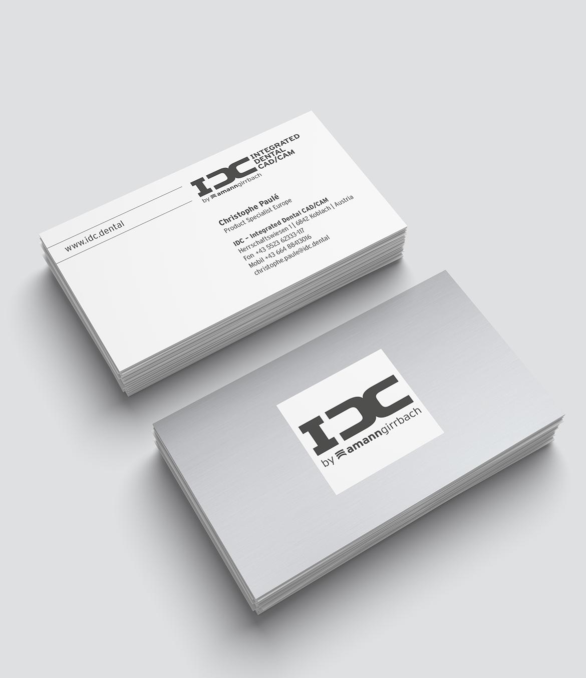 IDC Visitenkarten