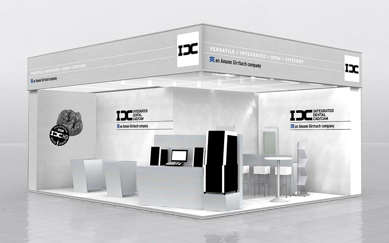 IDC Messestand 3D Rendering