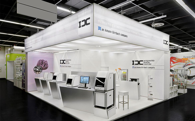 IDC Messestand Foto