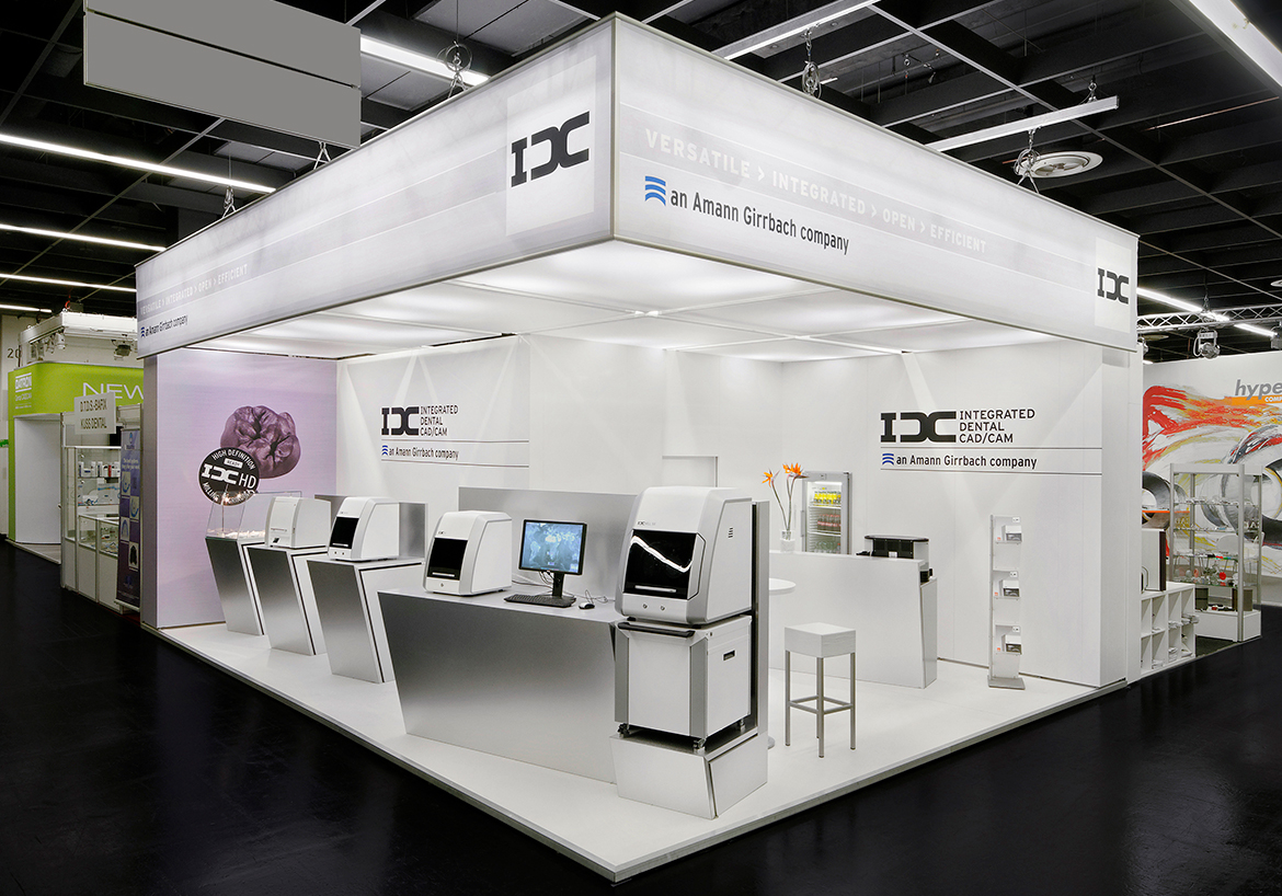 IDC Messestand IDS