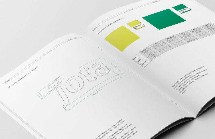 Jota AG Rotary Instruments Corporate Design