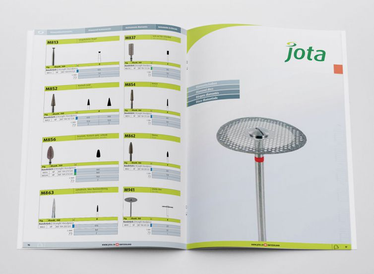 Jota AG Rotary Instruments Folder