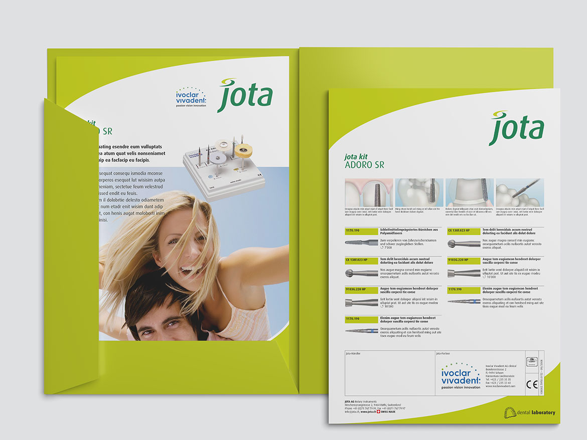 Jota AG Rotary Instruments Mappe
