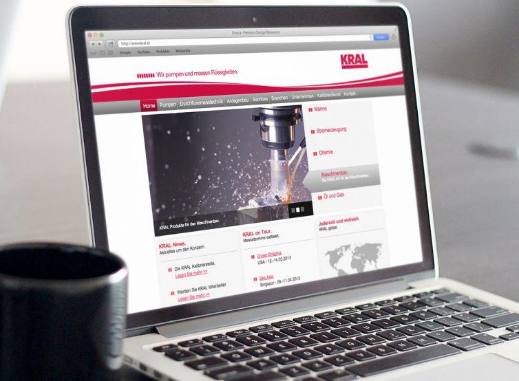 Kral AG Website