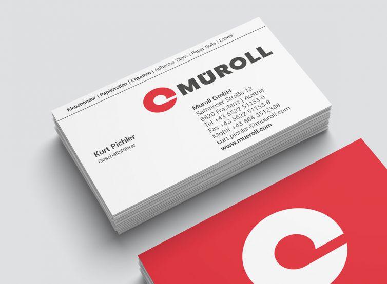 Müroll GmbH Visitenkarte