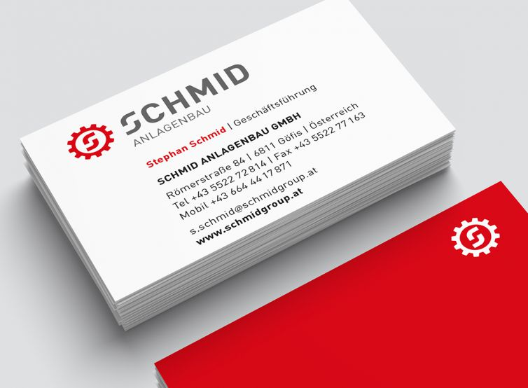 Schmid Group Visitenkarte