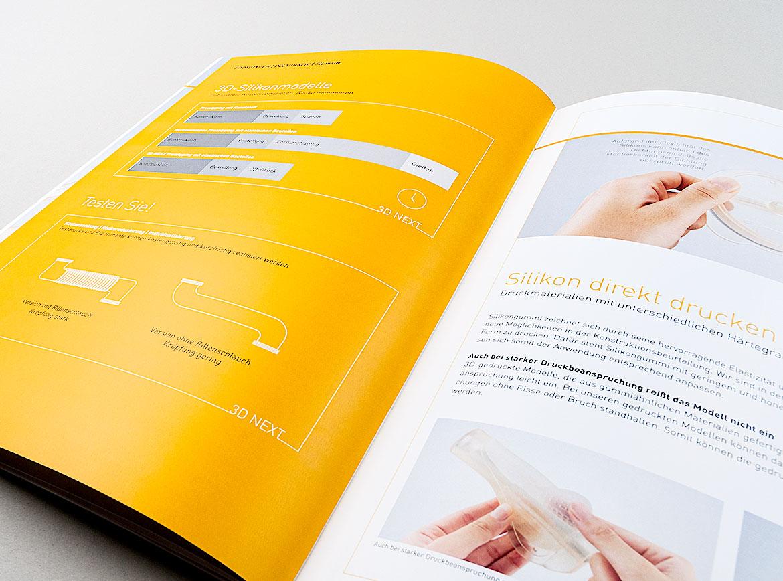 Innenseite zu Silikon in tecnoseal Broschüre
