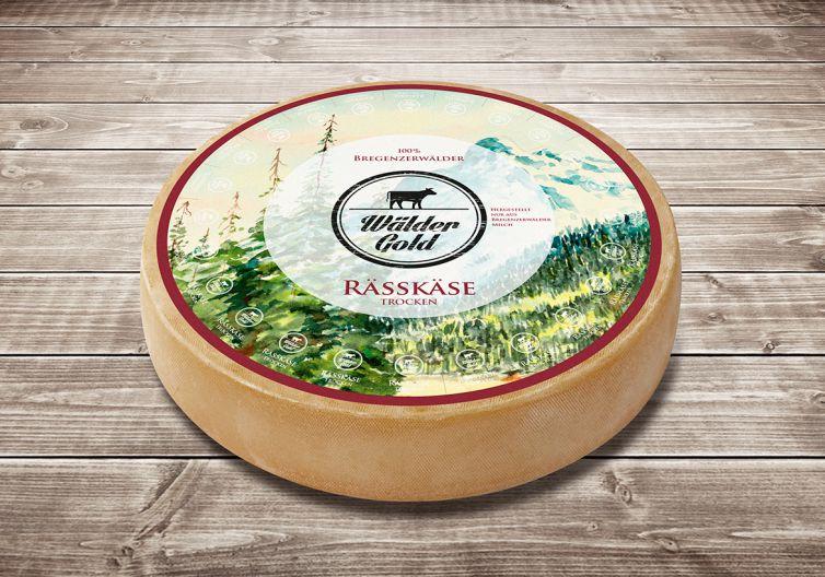 Wäldergold Käse Laib