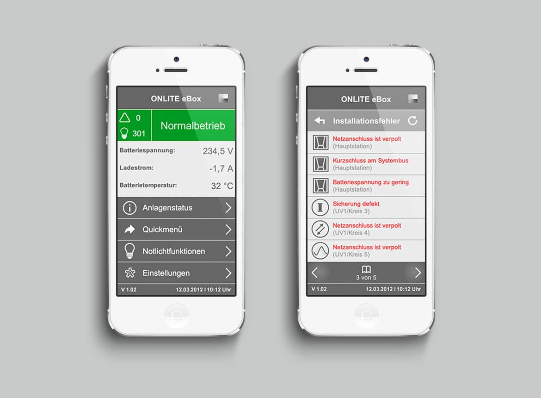 Tridonic GmbH & Co KG onLite eBox Mobile
