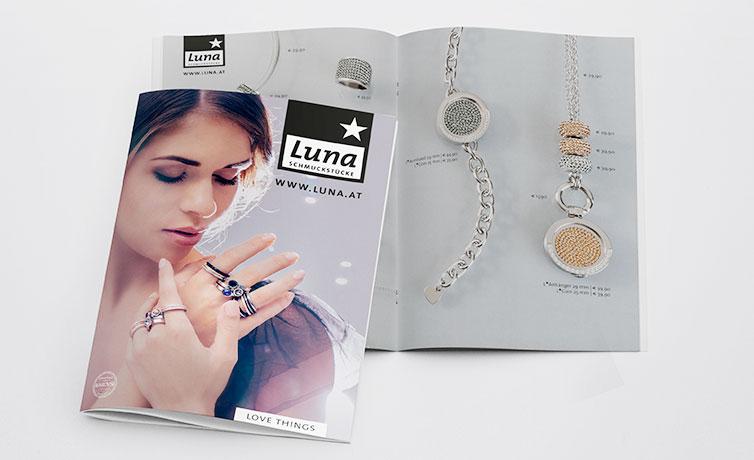 Luna Schmuckstücke Folder